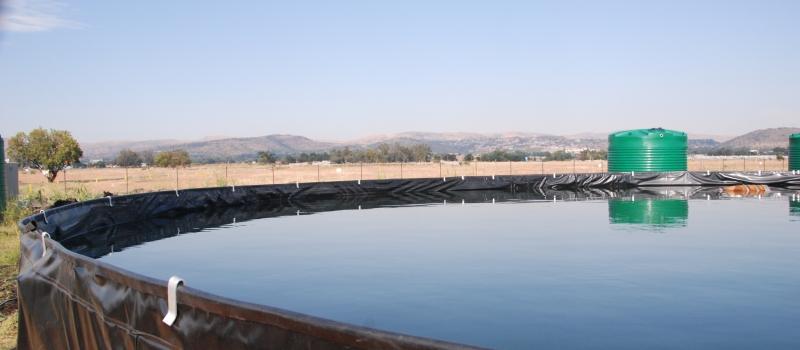 Hydrex mesh reservoir 1.8 meter high