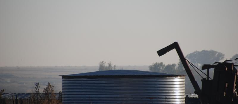 Hydrex - Corrugated Grain Silo