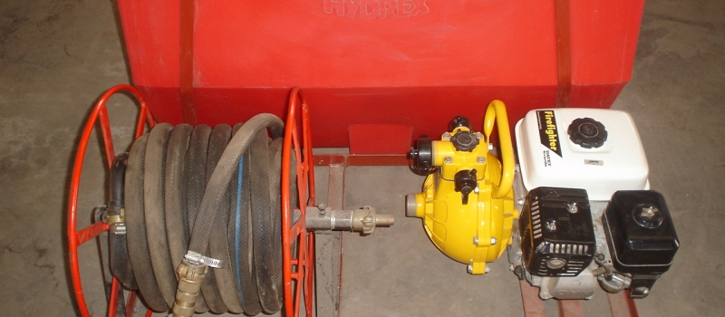 Hydrex - Roto Moulded Tank & Fire Pump