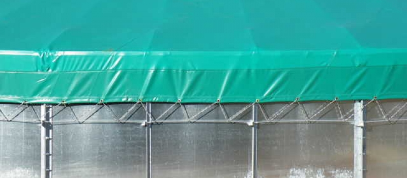 Hydrex - Panel Silo Tarpaulin Roof