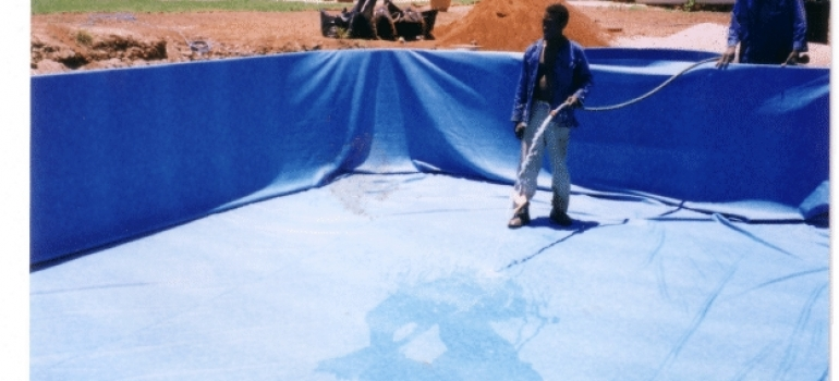 Hydrex - Pool liner installation