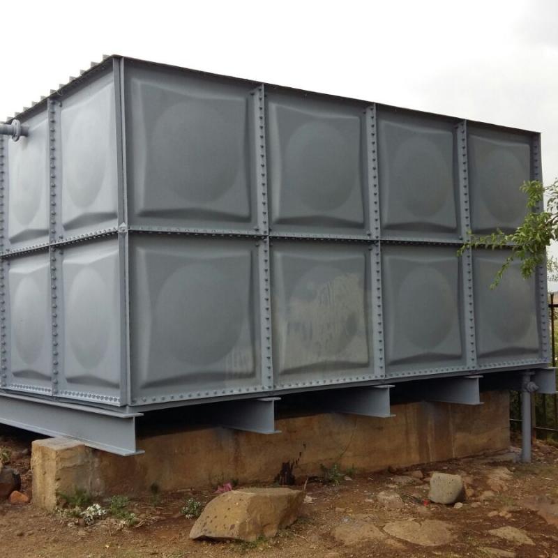 Pressed steel tank. Refurbished tank