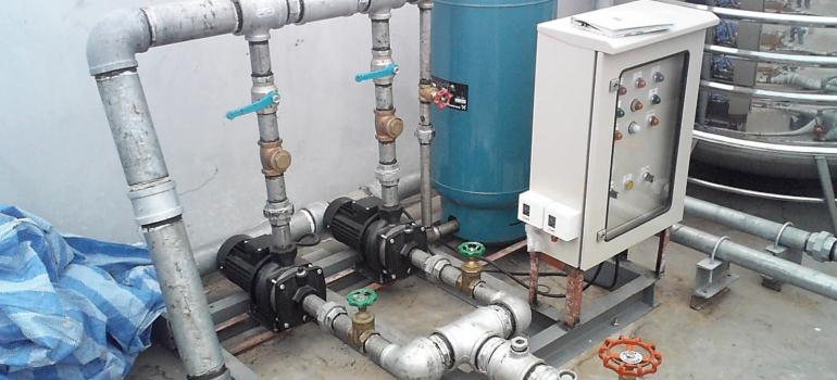 Booster pump intsallation